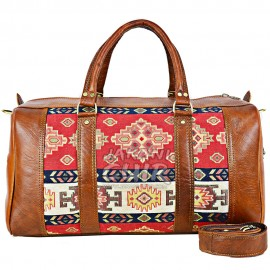 MoroccanTravel Bag With Kilim Ref:Z20