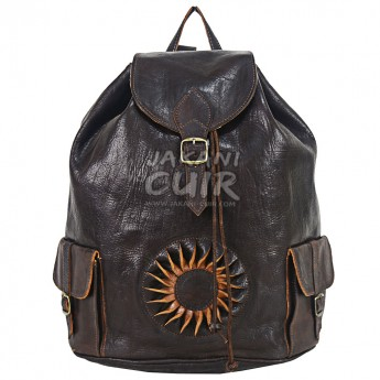 Backpack In Original Goat Leather Ref:M50B
