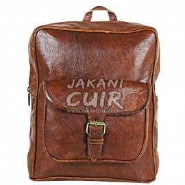 leather backpack Morroco