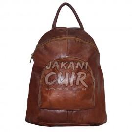 leather backpack Morroco