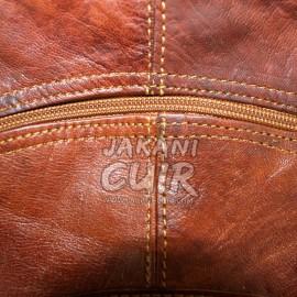 Sac à dos marocain en cuir