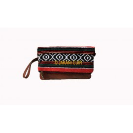 Wallet leather bag