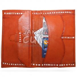 Portefeuille en cuir marocain pour femme