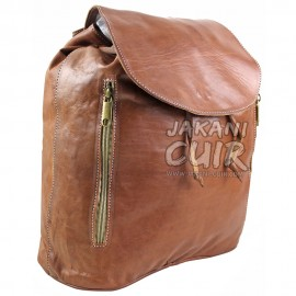 Moroccan Leather Backpack Ref:S47