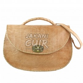 morrocan leather bag