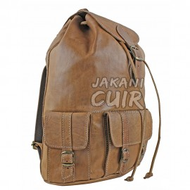 Moroccan Goat Leather Backpack Ref:M7A
