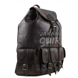 Moroccan Goat Leather Backpack Ref:M7B