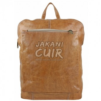 Moroccan Modern Leather Backpack Ref:S44A
