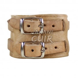 Bracelet En Cuir Marocain Vintage