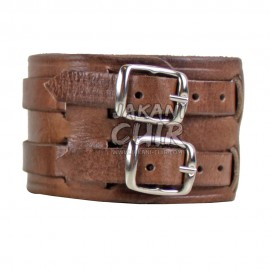 Vintage Moroccan leather Bracelet