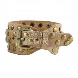 Bracelet En Cuir Marocain Moderne Réf:BR4B
