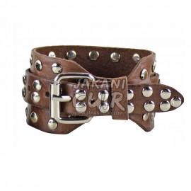 Modern Moroccan Leather Bracelet Ref:BR1A