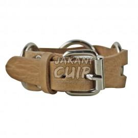 Bracelet En Cuir Marocain artisanal Réf:BR9A